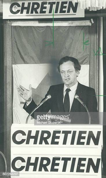Jean Chretien: Little guy from Shawinigan still dreams of becoming Prime Minister.