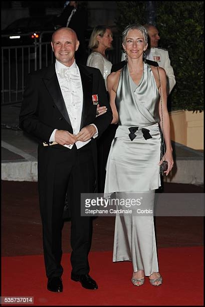Jean Christophe Maillot attends the dinner at Opera terraces after the religious wedding ceremony of Prince Albert II of Monaco and Princess Charlene...