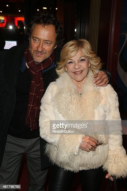 Jean Christophe Molinier and Nicoletta attend the 10th Charity Gala Against Alzheimer's Disease At L'Olympia In Paris at L'Olympia on January 19 2015...