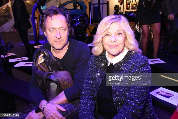 Jean Christophe Molinier and Nicoletta attend the Christophe Guillarme Show as part of the Paris Fashion Week Womenswear Spring/Summer 2018 on...