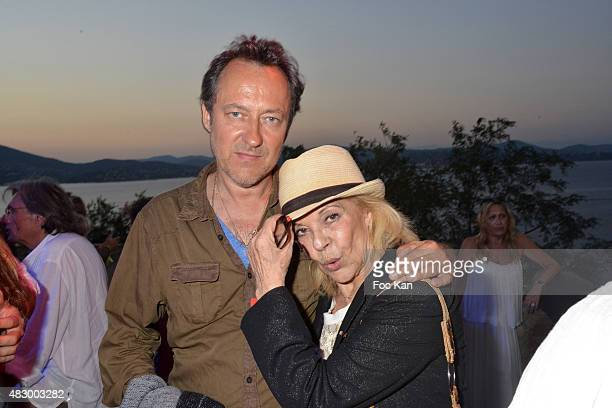 Jean Christophe Molinier and Nicoletta attend the 'Fight Night 2015' Gala Show at La Citadelle de Saint Tropez on on August 4 2015 in SaintTropez...