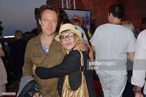 Jean Christophe Molinier and Nicoletta attend the 'Fight Night 2015' Gala Show at La Citadelle de Saint Tropez on on August 4 2015 in SaintTropez...