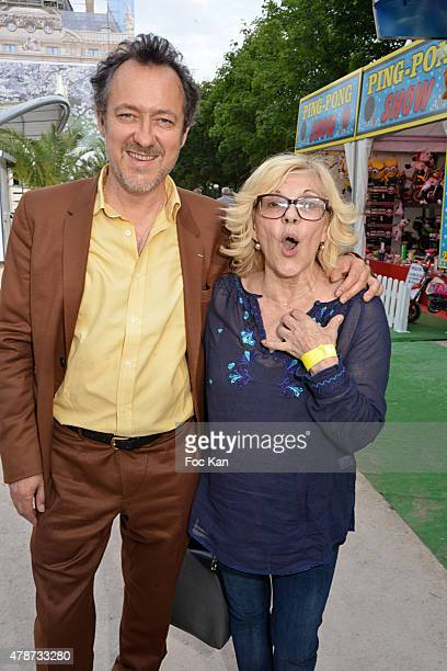 Jean Christophe Molinier and NicolettaÊattend 'Fete des Tuileries' Launch Party To Benefit Meghanora Association on June 26 2015 in Paris France