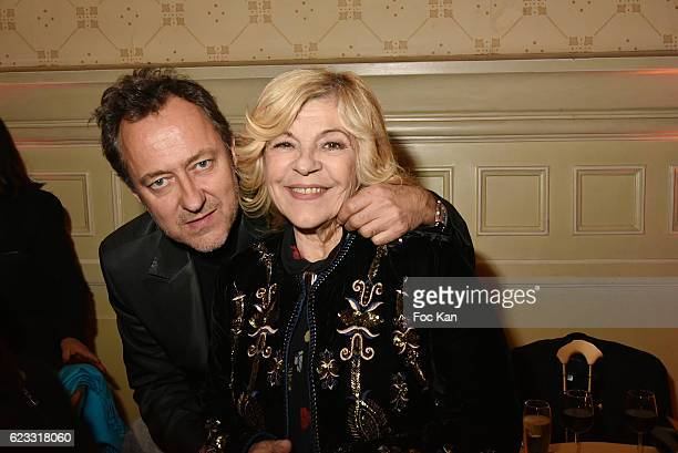 Jean Christophe MolinierÊand Nicoletta attend the Gala de L'Espoir 2016 at Theatre du Chatelet on November 14 2016 in Paris France