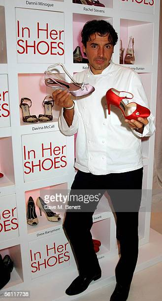 Jean Christophe Novelli attends the aftershow party following the UK premiere of In Her Shoes at the Grosvenor House Hotel on November 7 2005 in...