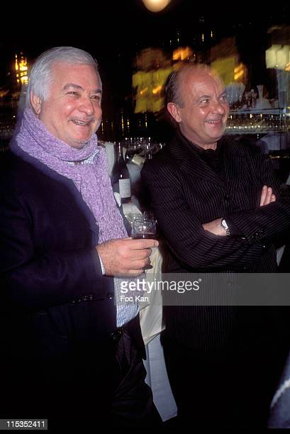 Jean Claude Brialy and Jean Francois Carmet son of Jean Carmet