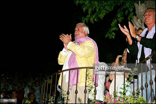 Jean Claude Brialy Laurent Gerra ends his summer tour at the Ramatuelle festival in 2006