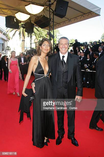 Jean Claude Darmon and date arrive at the premiere of 'Zodiac' during the 60th Cannes Film Festival