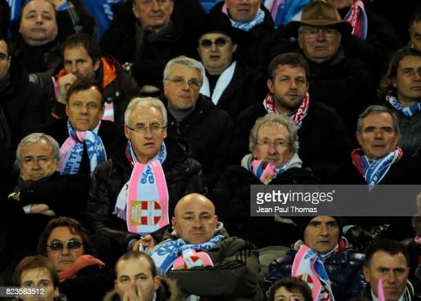 Jean Claude DASSIER / Patrick TROTIGNON / Franck RIBOUD / Aime JACQUET Evian Thonon / Marseille 32e Finale Coupe de France