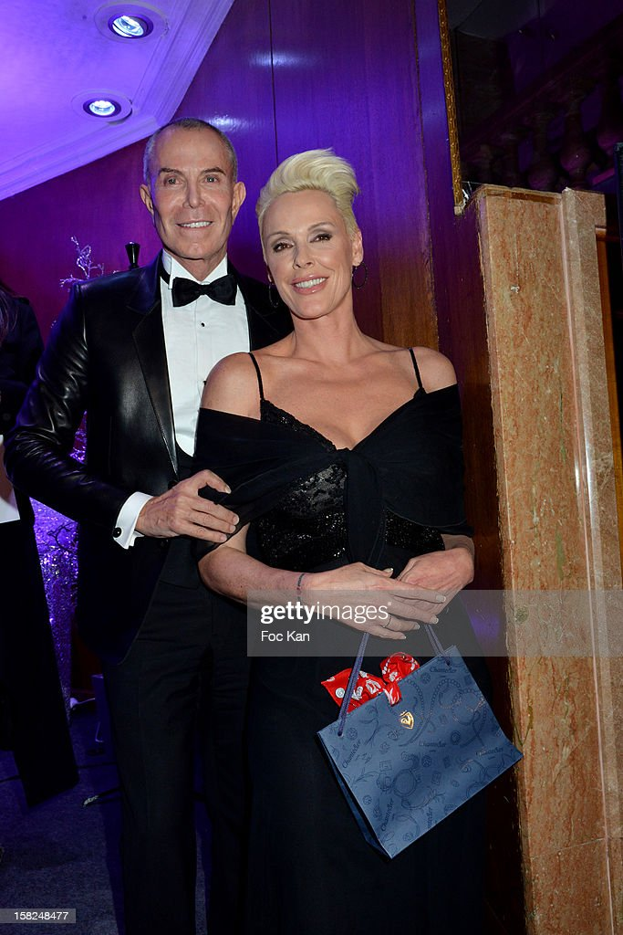 Jean Claude Jitrois and Brigitte Nielsen attend the The Bests Awards 2012 Ceremony at the Salons Hoche on December 11, 2012 in Paris, France.