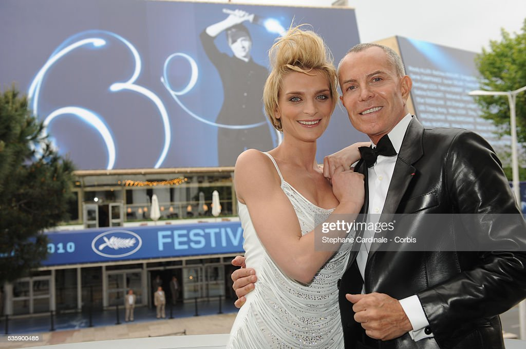 France - Jean Claude Jitrois and Sarah Marshall Photo Call - 63rd Cannes International Film Festival