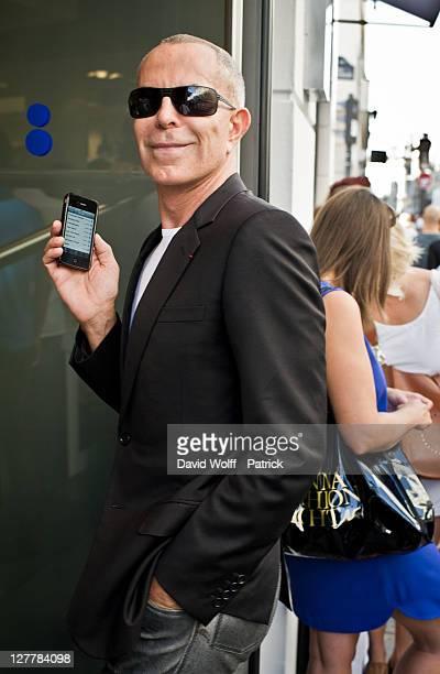 Jean Claude Jitrois arrives at Colette Shop at Colette on September 30 2011 in Paris France