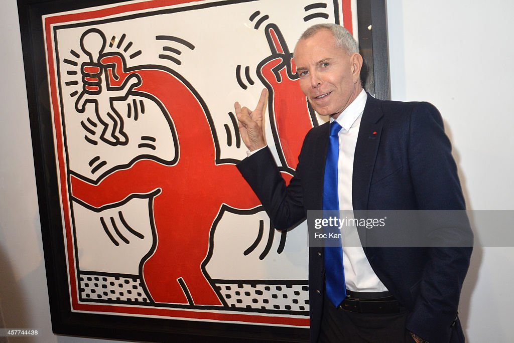Keith Haring : Exhibition Preview At Galerie Laurent Strouk  In Paris
