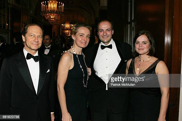 Jean Claude Meyer AnneClaire Taittinger Victor Luis and Carine Luis attend Baccarat Presents the 2nd Annual UNICEF SNOWFLAKE BALL at WaldorfAstoria...