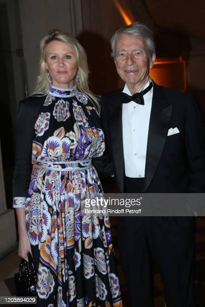 Jean Claude Narcy and Alice Bertheaume attend the 20th Gala Evening of the Paris Charter Against Cancer for the benefit of the International...