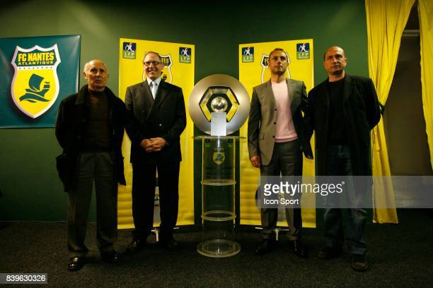 Jean Claude SUAUDEAU / Patrice RIO / Michel DERZAKARIAN / Eric PECOUT Nantes / Sedan 30eme Journee de Ligue 1
