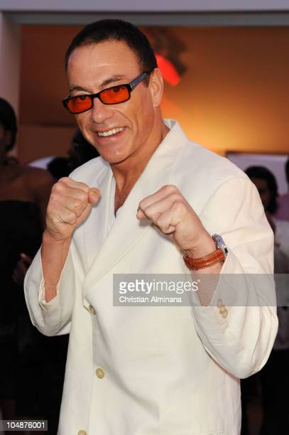 Jean Claude van Damme attends the Variety Celebrates Ashok Amritraj event held at the Martini Terraza during the 63rd Annual International Cannes...