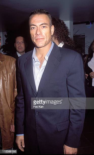 Jean claude Van Damme during France Boissons Party at the Amnesia Club at Amnesia Club in Paris France