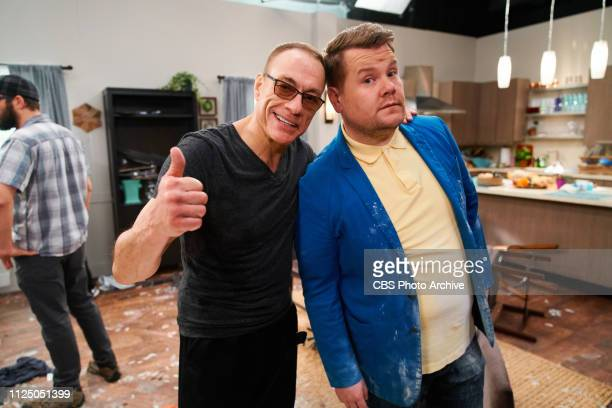 Jean Claude Van Damme joins James Corden for a sketch on The Late Late Show with James Corden.