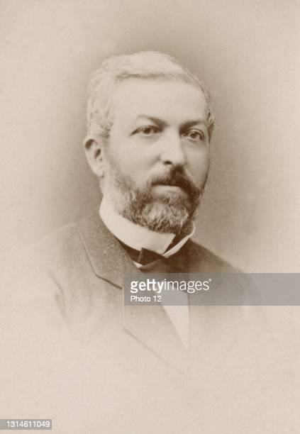 Jean Constans . French Minister of the Interior for Jules Ferry in 1880-1881. He was Governor of Indo-China from 1886 to 1889. Photograph by Franck,...