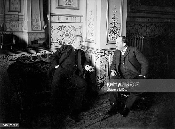 Jean Coquelin with J. C., no date, around 1900