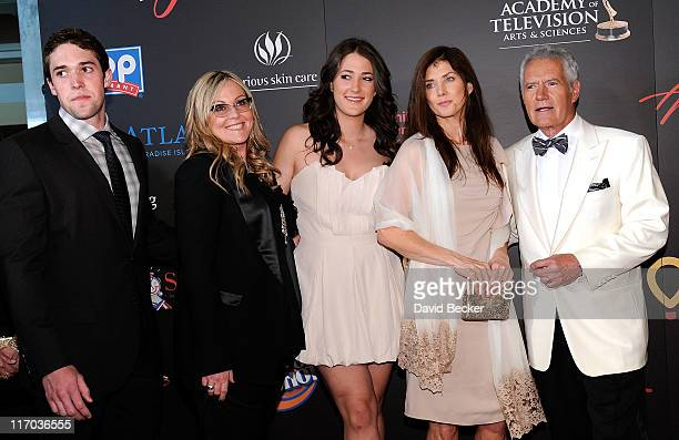Jean Currivan Trebek and Alex Trebek arrive at the 38th Annual Daytime Entertainment Emmy Awards held at the Las Vegas Hilton on June 19 2011 in Las...