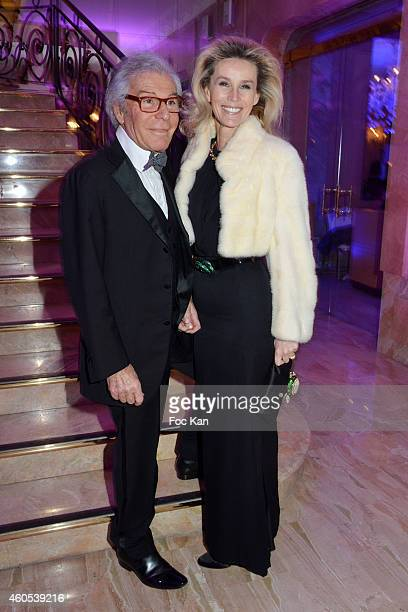 Jean Daniel Lorieux and Laura Restelli Brizard attend 'The Best' Awards 2014 Ceremony At Salons Hoche on December 15, 2014 in Paris, France.