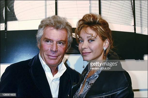 Jean Daniel Lorieux with Grace de Capitani in Paris France on February 04th 2004