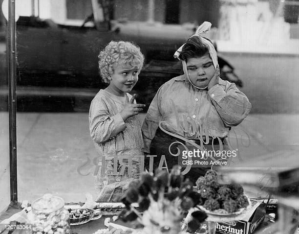 Jean Darling and Joe Cobb in 'Noisy Noises' an Our Gang comedy later to be known as The Little Rascals Original release date February 9 1929