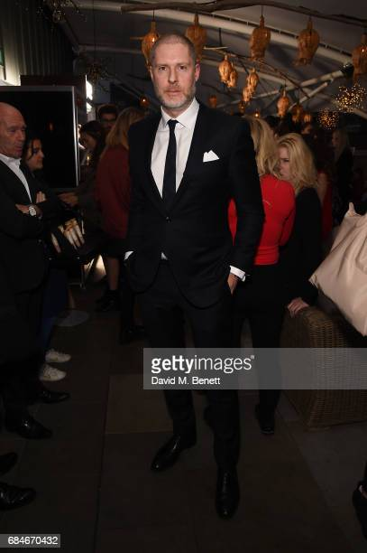 Jean David Malat attends the Gentleman's Journal Bermuda 35th America's Cup summer party hosted by Jack Guinness at Ham Yard Hotel on May 18 2017 in...
