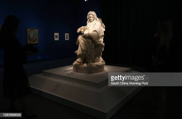 Jean de la Fontaine display at Inventing le Louvre: From Palace to Museum over 800 Years at Hong Kong Heritage Museum in Sha Tin. 25APR17 SCMP /...