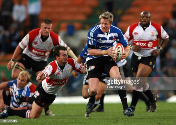 Jean de Villiers of Western Province in action during the Absa Currie Cup match between Western Province and Lions held at Newlands Stadium October...