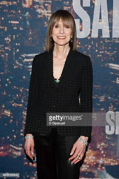 Jean Doumanian attends the SNL 40th Anniversary Celebration at Rockefeller Plaza on February 15 2015 in New York City