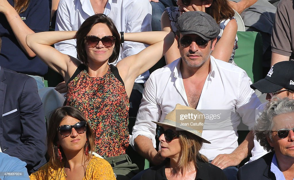 Celebrities at French Open 2015 - Day Fiftheen : News Photo