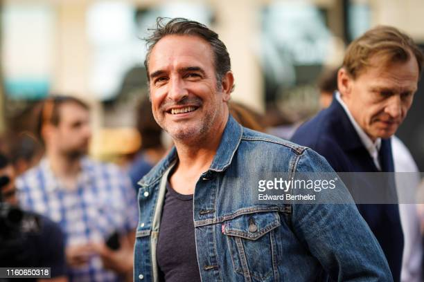Jean Dujardin attends A Sunday at the Cinema with the projection of the film OSS 117 Le Caire At the Champs Elysees on July 07 2019 in Paris France