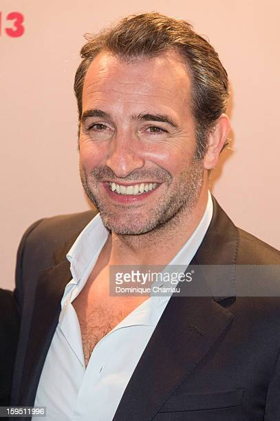 Jean Dujardin attends the 'Cesar's Revelations 2013' Dinner Arrivals at Le Meurice on January 14 2013 in Paris France