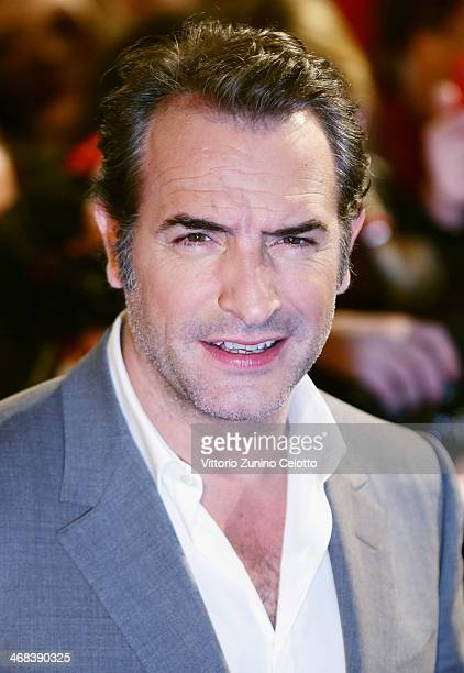 Jean Dujardin attends 'The Monuments Men' Milan Premiere on February 10, 2014 in Milan, Italy.