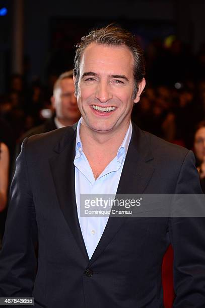Jean Dujardin attends 'The Monuments Men' premiere during 64th Berlinale International Film Festival at Berlinale Palast on February 8 2014 in Berlin...