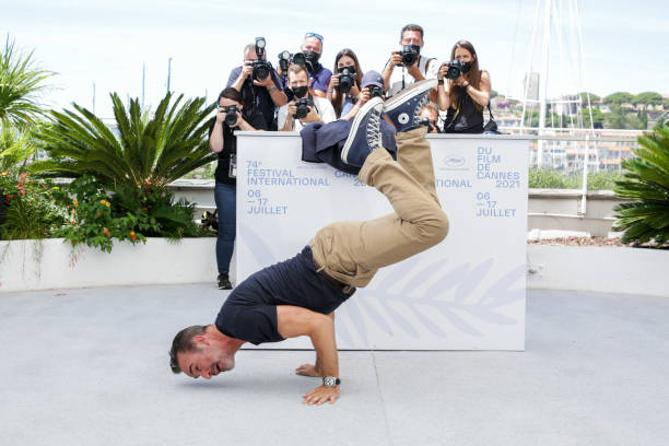 """FRA: """"OSS 117: From Africa With Love"""" Photocall - The 74th Annual Cannes Film Festival"""