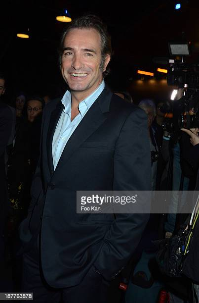 Jean Dujardin attends the Quai des Orfevres 2014 Literary Prize award announcement at the Police Judiciaire on November 12 2013 in Paris France
