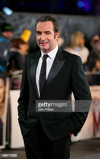 Jean Dujardin attends the UK Premiere of 'The Monuments Men' at The National Gallery on February 11 2014 in London England