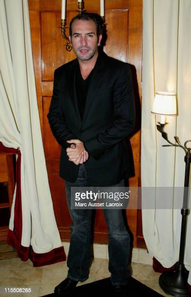 Jean Dujardin during 2007 Cesars Awards Nomination Dinner at Le Fouquet's in Paris France