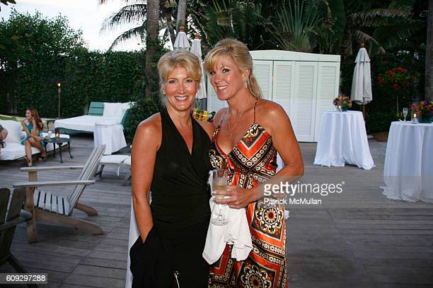 Jean Dunlap and Barbie Dunlap attend Launch of Diane von Furstenberg Soleil Swim and Beach Collection at The Delano on July 13 2007