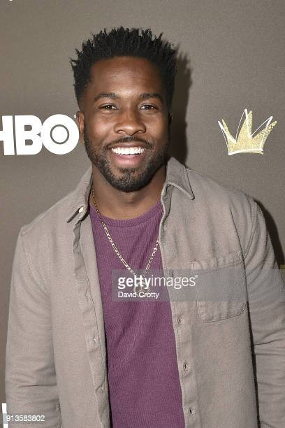Jean Elie attends HBO's '2 Dope Queens' Los Angeles Slumber Party Premiere at NeueHouse Hollywood on February 2 2018 in Los Angeles California