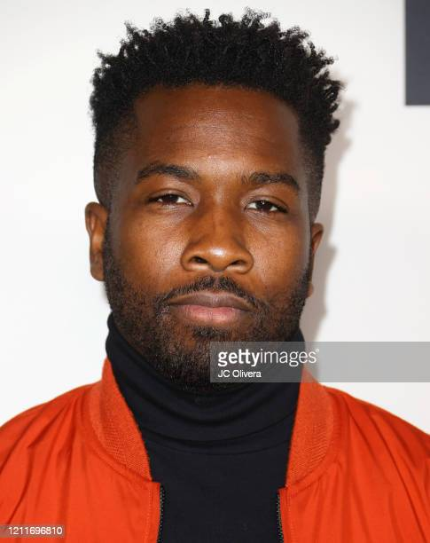 """Jean Elie attends the premiere of BET's """"Boomerang"""" Season 2 at Paramount Studios on March 10, 2020 in Los Angeles, California."""