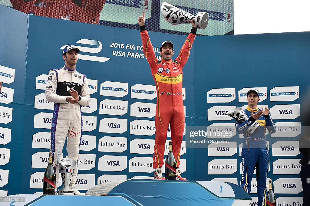 2016 FIA Formula E Championship : Paris E Prix : News Photo