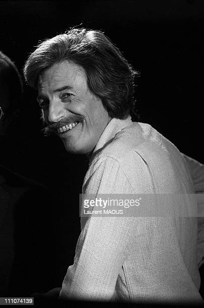 Jean Ferrat at a emission TV in France on November 15th 1980