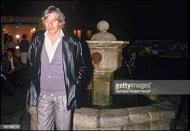 Jean Ferrat at Paris Open Tennis Tournament 1986