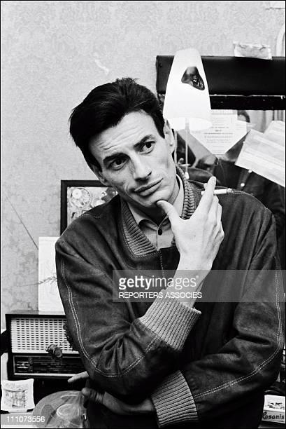 Jean Ferrat in France in July 1966