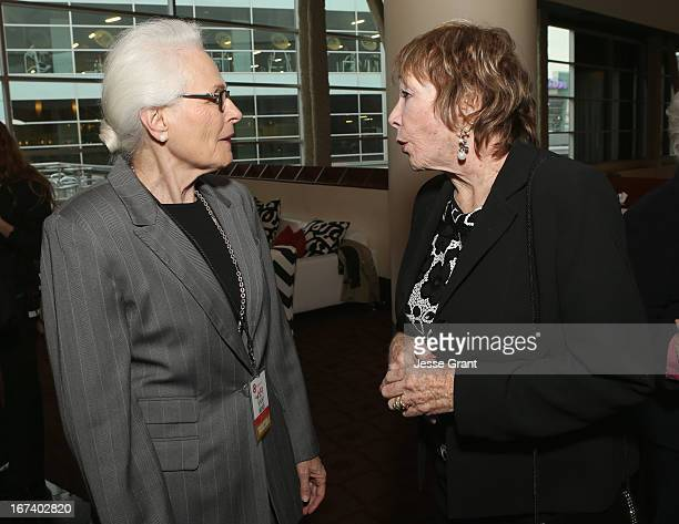 Jean Firstenberg and actress Shirley MacLaine attend Target Presents AFI's Night at the Movies at ArcLight Cinemas on April 24 2013 in Hollywood...